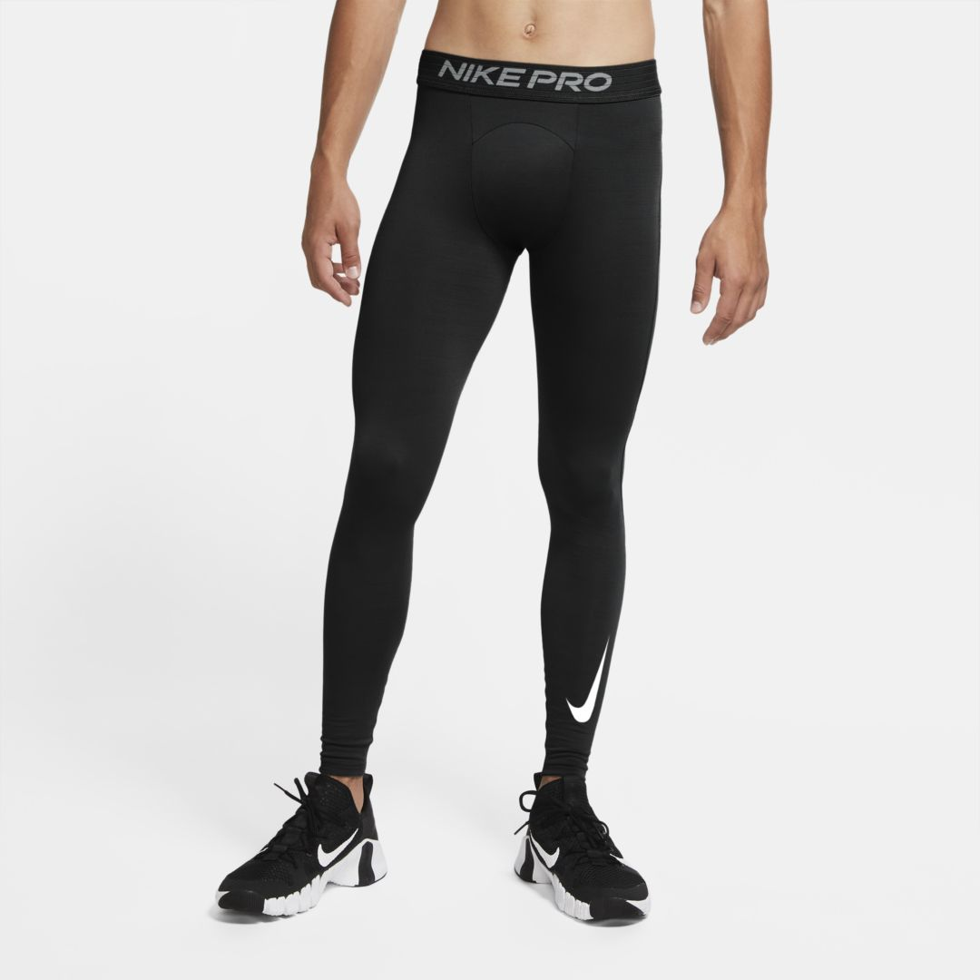 Nike Pro Warm Men's Tights (Black)