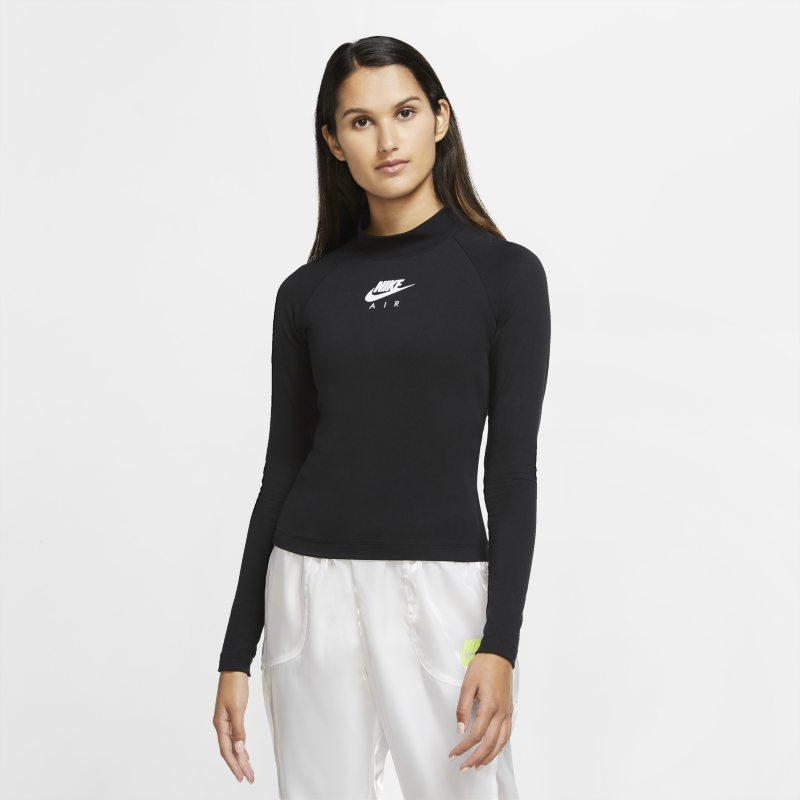 Nike Air Damestop met lange mouwen - Zwart