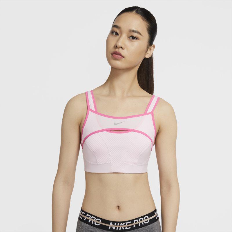 Nike Alpha UltraBreathe Sujetador deportivo de sujeción alta - Mujer - Rosa