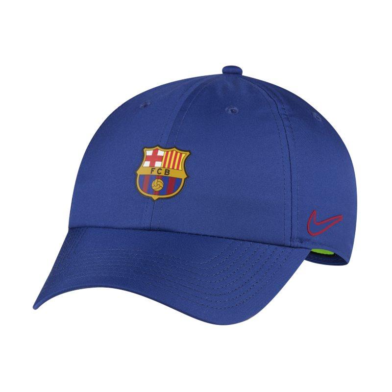 Keps FC Barcelona Heritage86 - Blå
