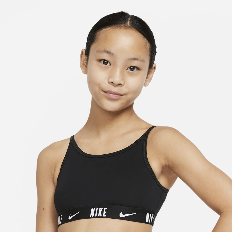 Nike Trophy Sujetador deportivo - Niña - Negro