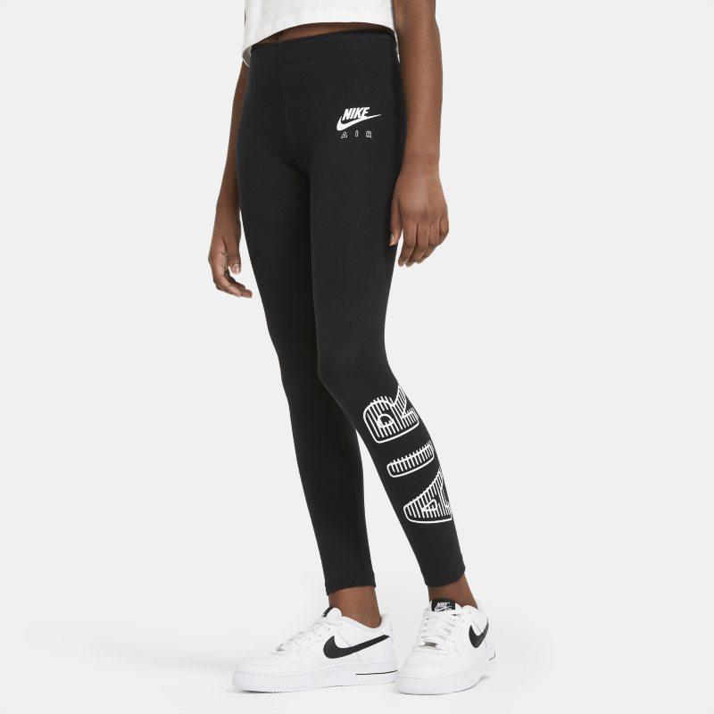 Tight Nike Air pour Fille plus âgée - Noir