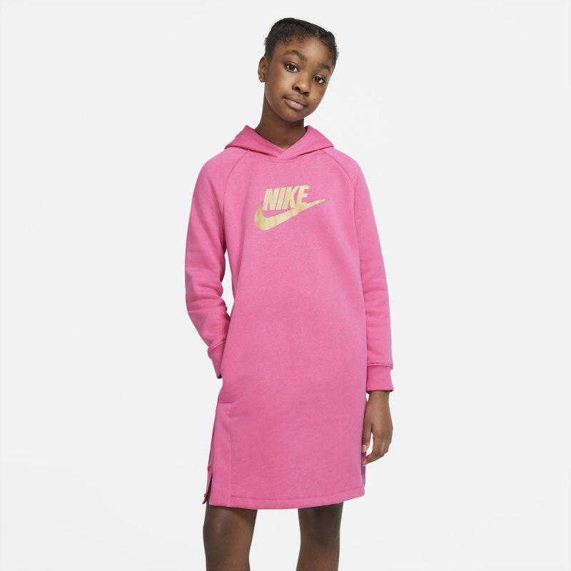 Nike Sportswear Hoodiejurk voor meisjes - Roze