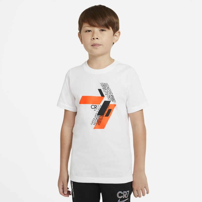 CR7 Voetbalshirt voor kids - Wit