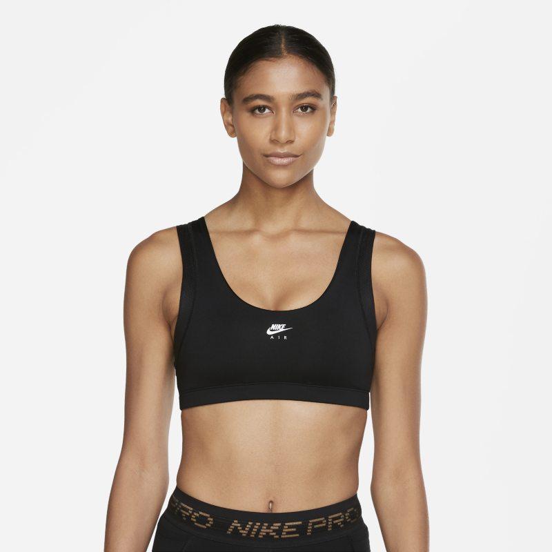 Nike Air Indy Sujetador deportivo de sujeción ligera - Mujer - Negro
