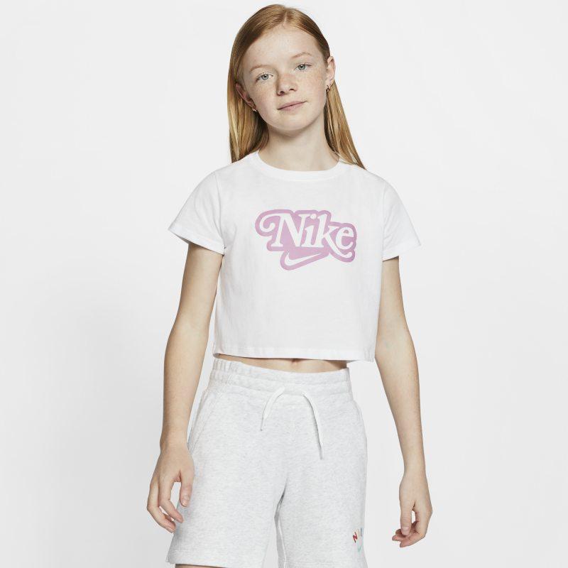 Nike Sportswear T-shirt voor meisjes - Wit