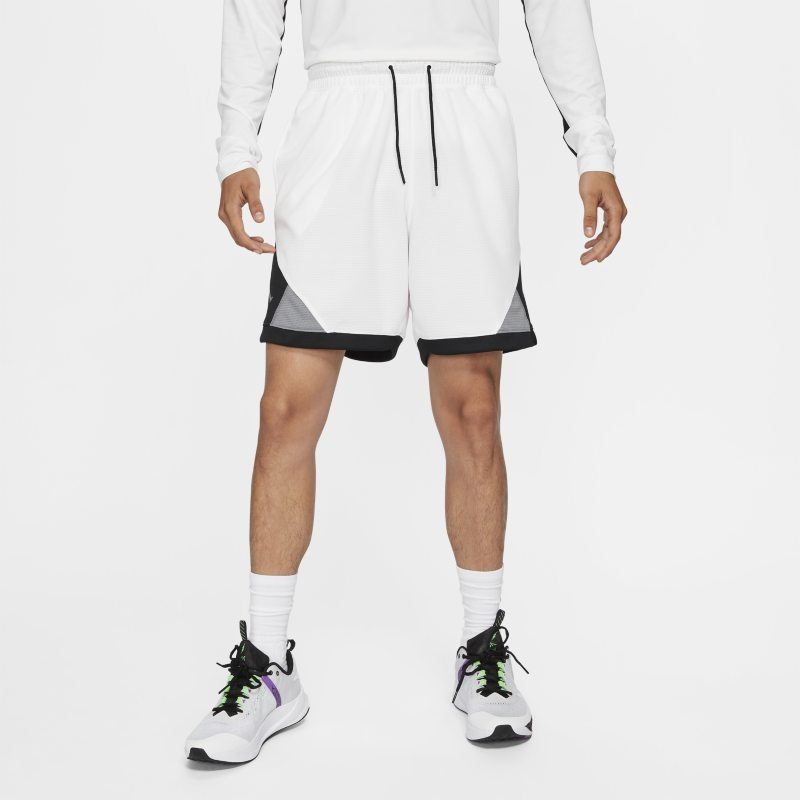 nike shorts diamond jordan dri-fit air - - bianco uomo