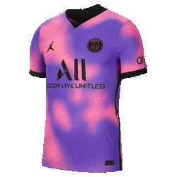 パリ サンジェルマン 2021/22 ヴェイパー マッチ フォース メンズ サッカーユニフォーム CV8409-640 ピンクの画像