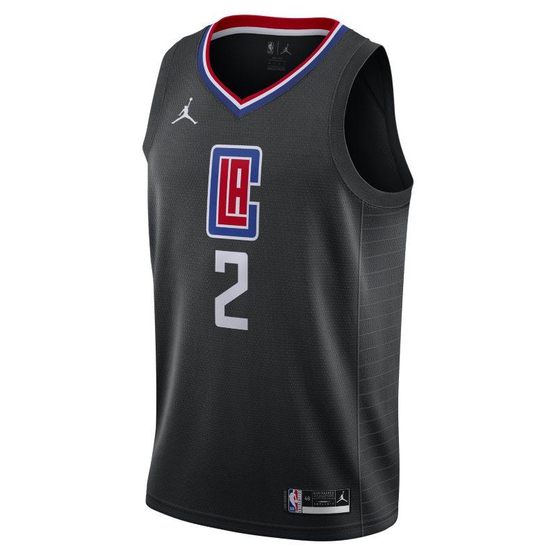 Kawhi Leonard Clippers Statement Edition 2020 Swingman Jordan NBA-jersey - Zwart