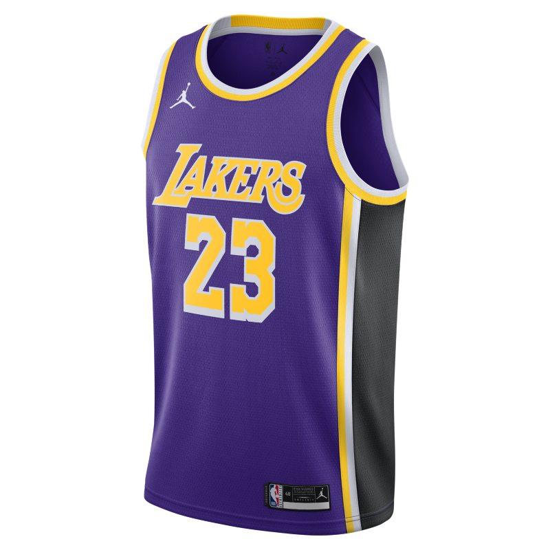 LeBron James Lakers Statement Edition 2020 Swingman Jordan NBA-jersey - Paars