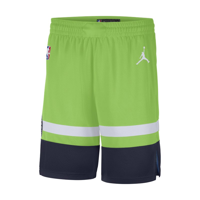 Shorts Timberwolves Statement Edition 2020 Jordan NBA Swingman för män - Grön