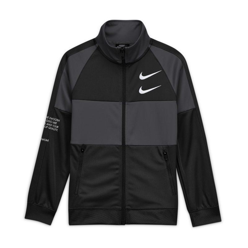 Nike Sportswear Swoosh Jongensjack - Zwart