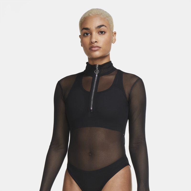 Nike Sportswear Icon Clash Bodysuit voor dames - Zwart