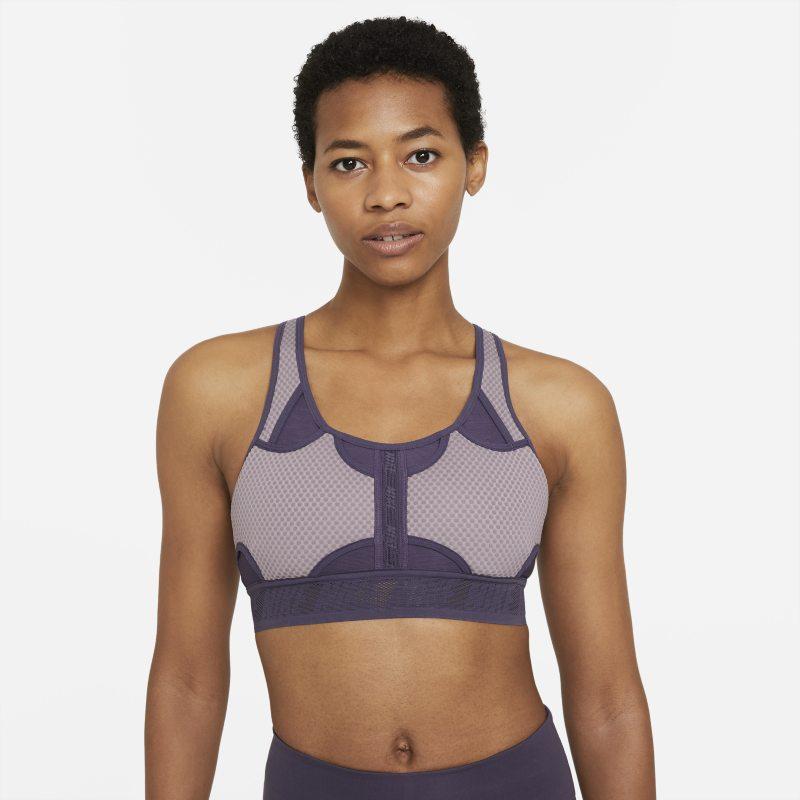 Nike Swoosh UltraBreathe Sujetador deportivo de sujeción media con almohadilla - Mujer - Morado
