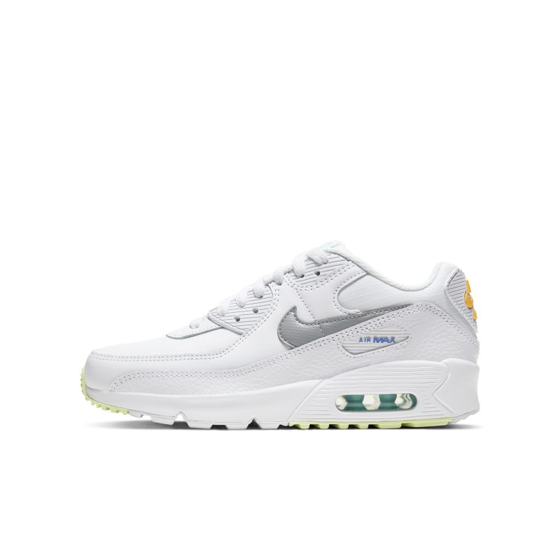 Adulto Microprocesador pantalones  Nike Air Max 90 Schuh für ältere Kinder - Weiß - Sport-1a