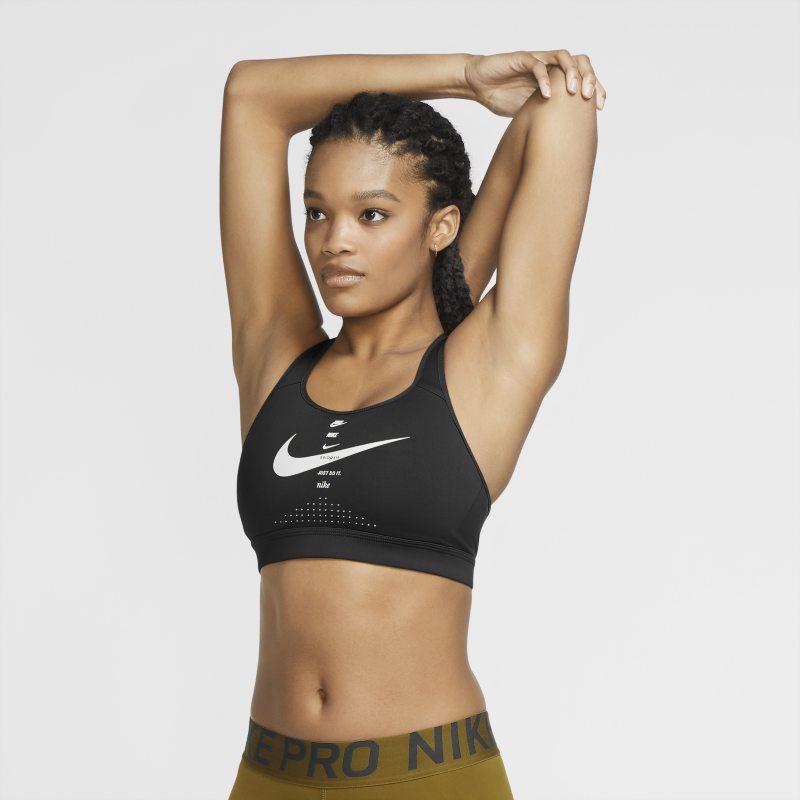 Nike Impact Strappy Sujetador deportivo de sujeción alta - Mujer - Negro