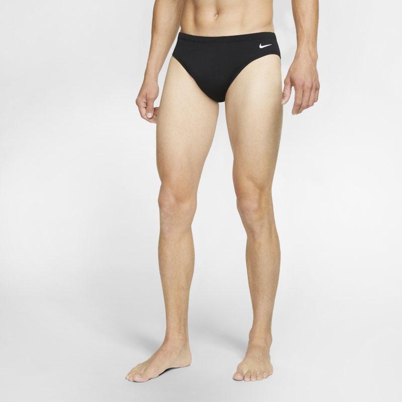 Nike Solid Zwembroek voor heren - Zwart