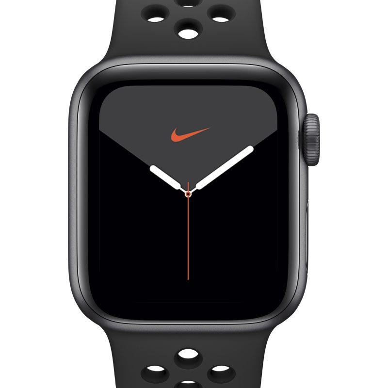 Nike Apple Watch Nike Series 5 (GPS) with Nike Sport Band 40mm Space Grey Aluminium Case - Black