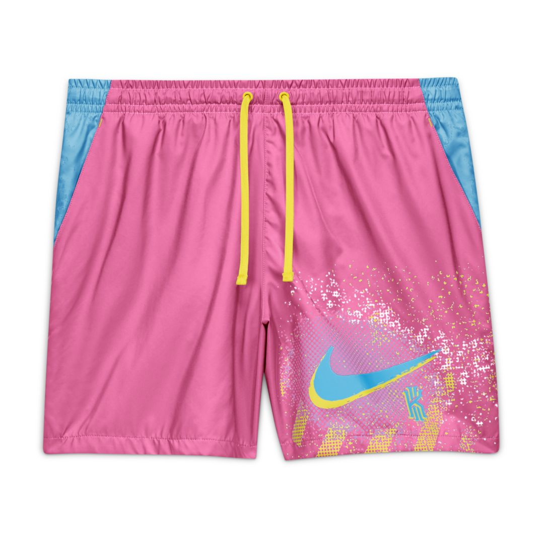 Nike Kyrie '90s Men's Basketball Woven Shorts Size L (Pink ...