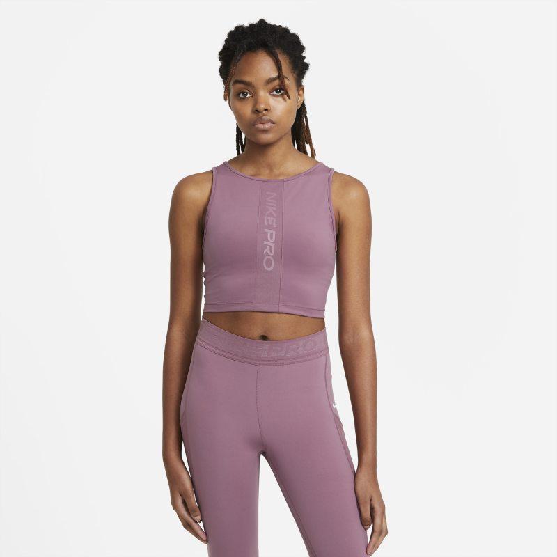Nike Pro Camiseta de tirantes con sujetador interior - Mujer - Morado