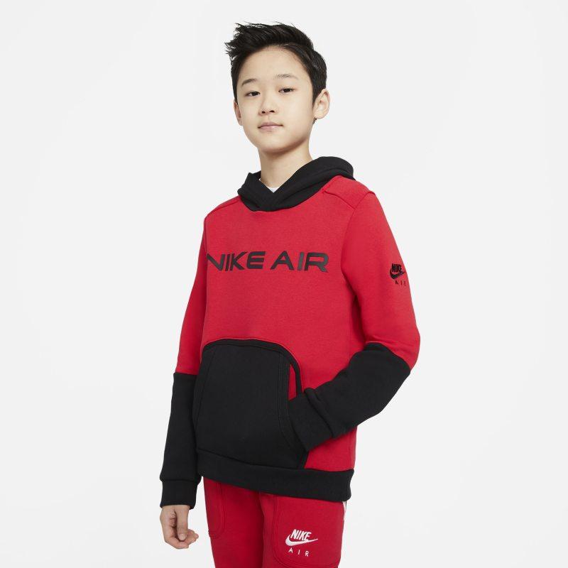 Nike Air Fleecehoodie voor jongens - Rood