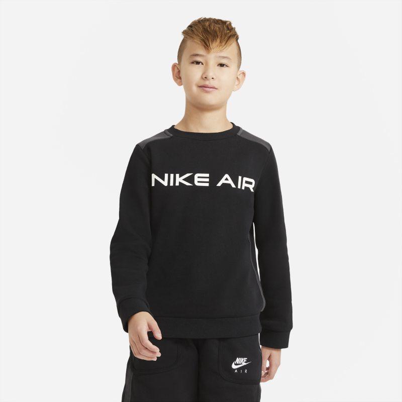 Nike Air top met ronde hals voor jongens - Zwart
