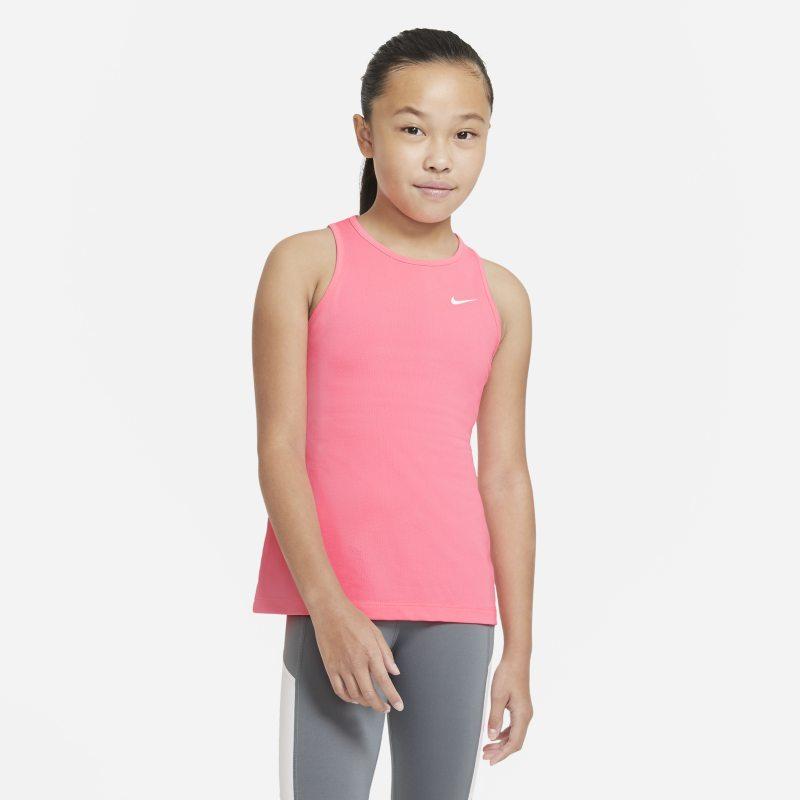Nike Pro Tanktop voor meisjes - Roze
