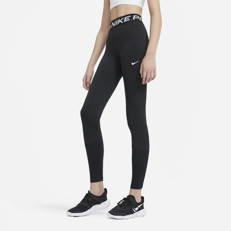 Nike Pro Legging voor meisjes - Zwart