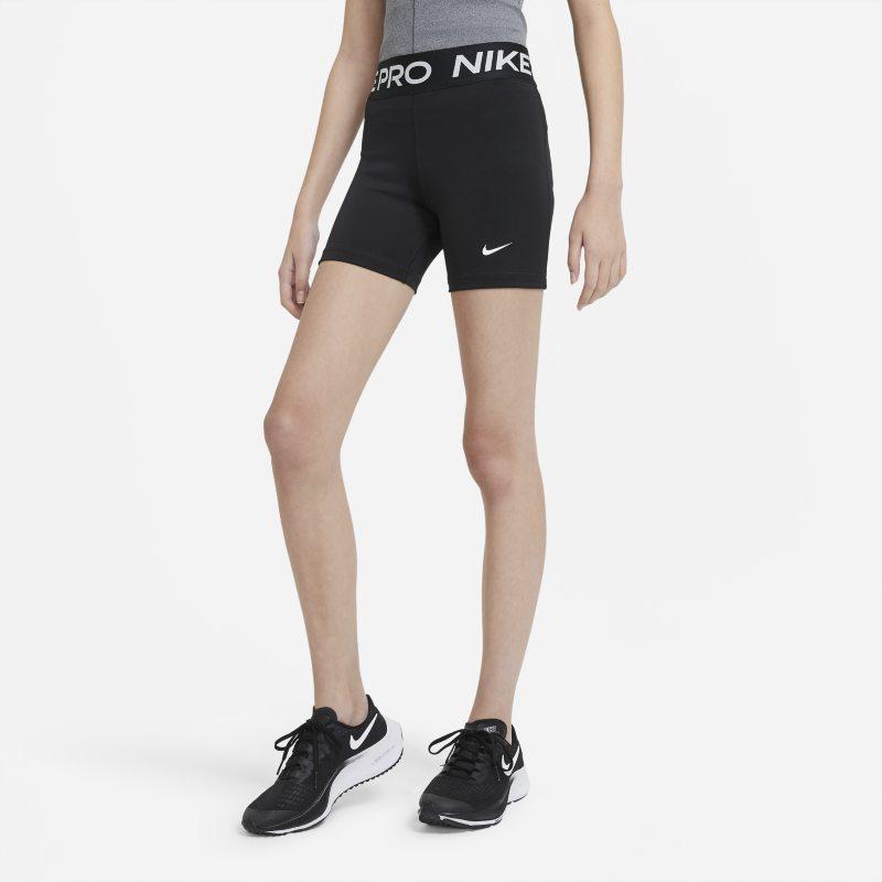Nike Pro Meisjesshorts - Zwart