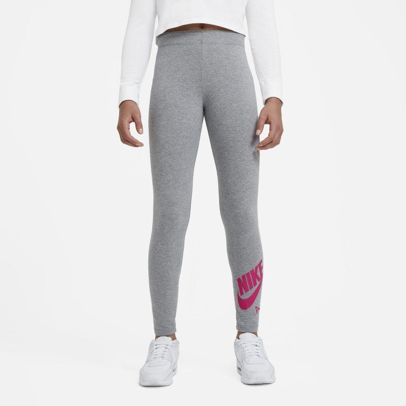 Nike Air Favorites Legging voor meisjes - Grijs