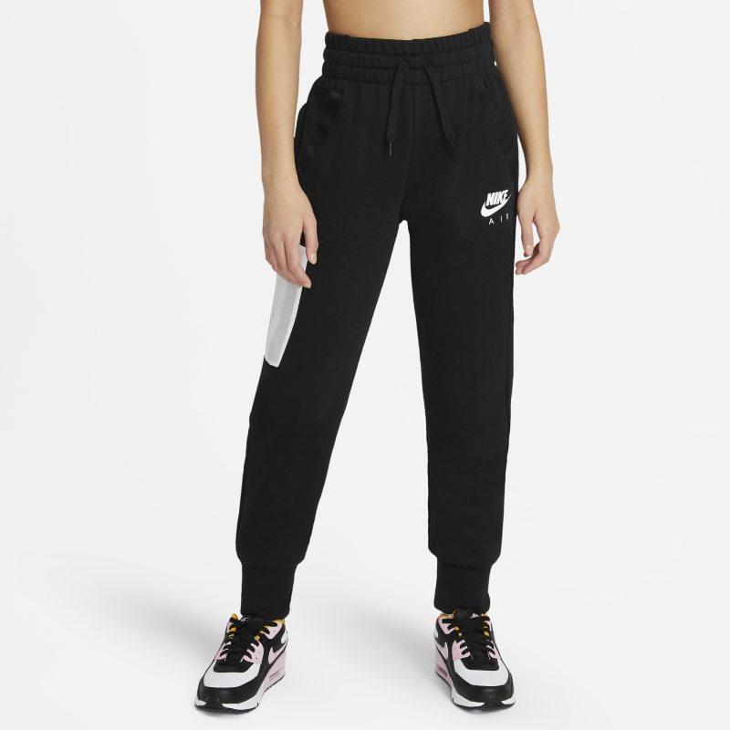 Nike Air Meisjesbroek van sweatstof - Zwart