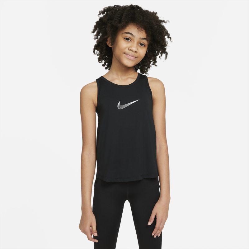 Nike Dri-FIT Trophy Trainingstanktop voor meisjes - Zwart