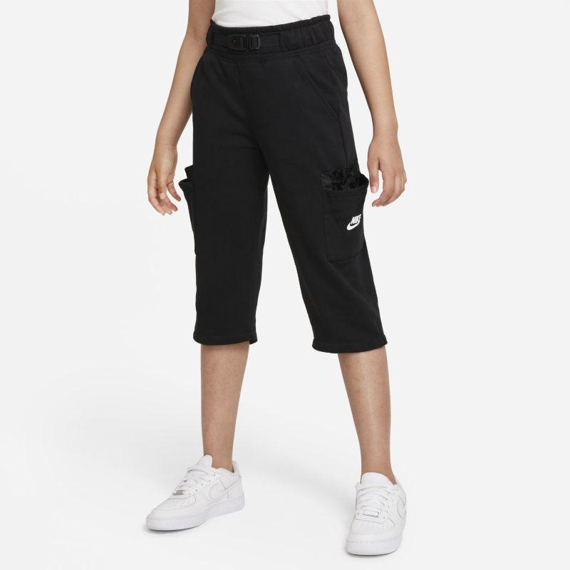 Nike Sportswear Cargobroek voor meisjes - Zwart