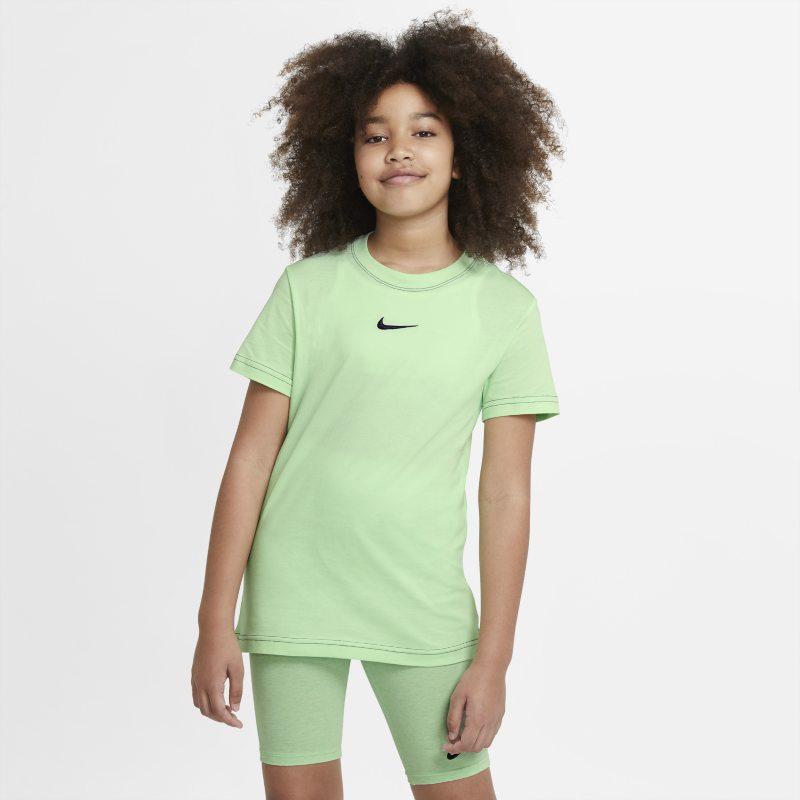 Nike Sportswear T-shirt voor meisjes - Groen
