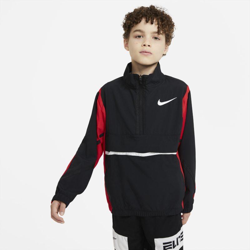 Nike Crossover Basketbaljack voor jongens - Zwart