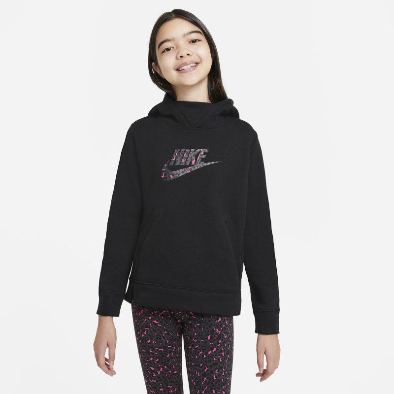 Nike Sportswear Hoodie voor meisjes - Zwart