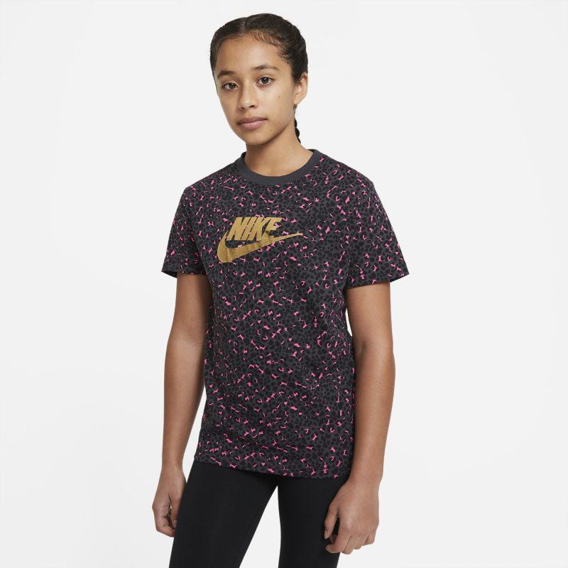 Nike Sportswear T-shirt voor meisjes - Grijs