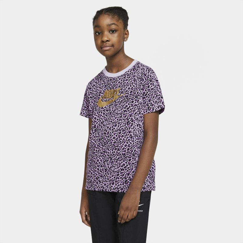 Nike Sportswear T-shirt voor meisjes - Paars