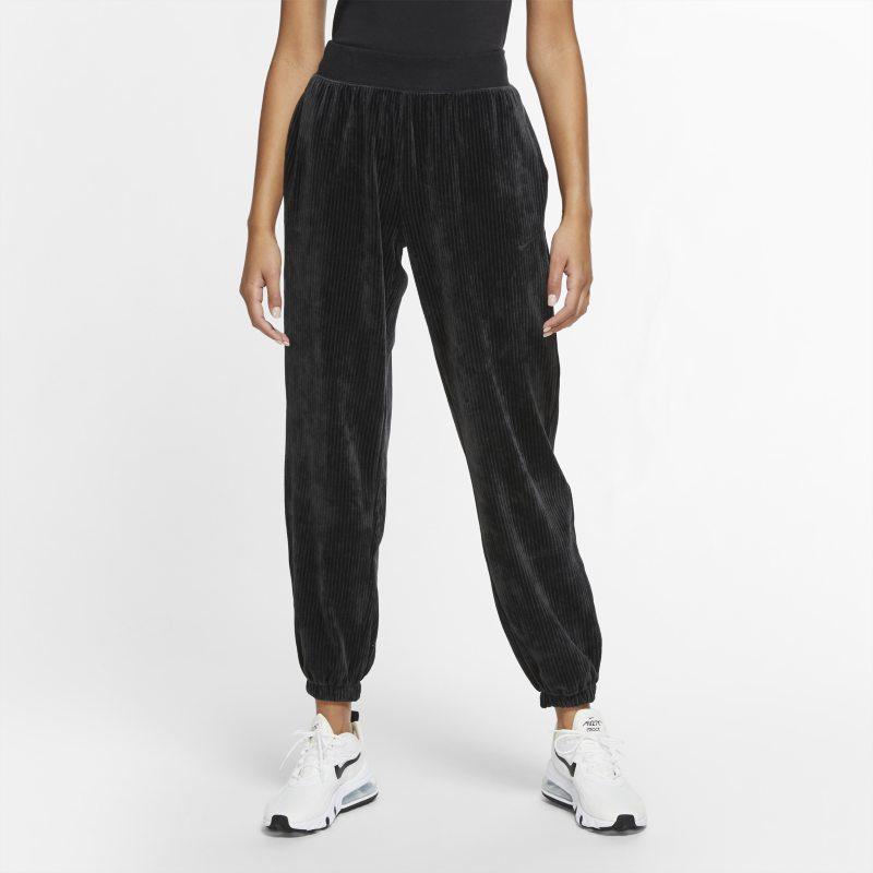 Nike Sportswear Velours damesbroek - Zwart