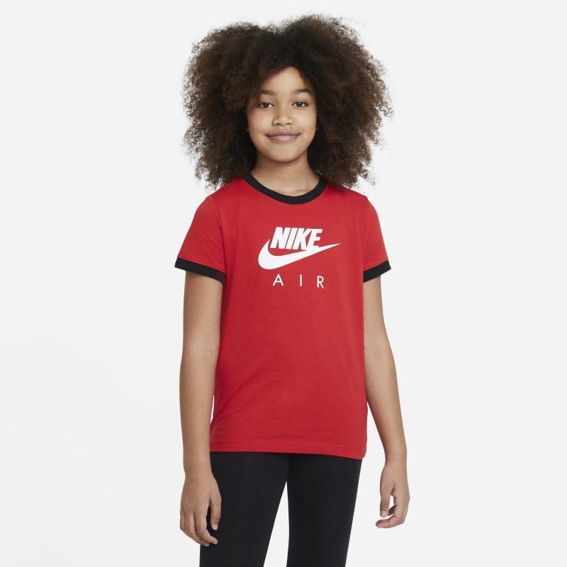 Nike Air T-shirt voor meisjes - Rood