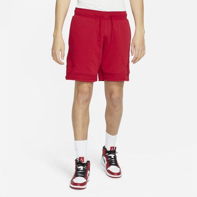 nike shorts jordan jumpman diamond - - rosso uomo