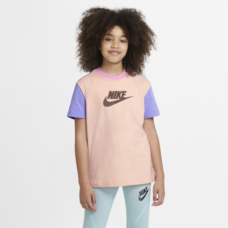 Nike Sportswear T-shirt voor meisjes - Oranje