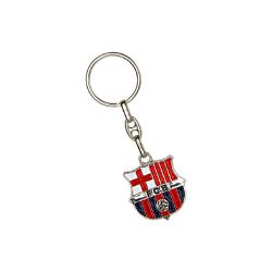 Image of Portachiavi FC Barcelona Plated Crest