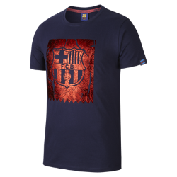 FC Barcelona Foil Shield Men's T-Shirt