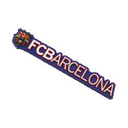Image of Magnete FC Barcelona Rubber Crest Logo