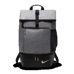 Рюкзак Nike SportРюкзак Nike Sport с отложным верхом на пряжке и несколькими карманами для мелочей позволяет удобно и организованно хранить экипировку. Благодаря специальному отделению на молнии обувь можно хранить отдельно от других вещей.&amp;#160;<br>