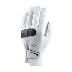 Женская перчатка для гольфа Nike Tour (на левую руку, стандартный размер)Женская перчатка для гольфа Nike Tour из мягкой кожи с перфорацией в области пальцев обеспечивает полный комфорт и усиленную вентиляцию. Отводящая влагу конструкция не позволяет ладони скользить внутри для комфорта при каждом свинге.<br>