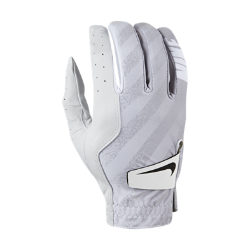 Мужская перчатка для гольфа (на правую руку, стандартный размер) Nike TechМужская перчатка для гольфа Nike Tech из мягкой кожи со вставками из эластичной ткани обеспечивает комфорт и естественную свободу движений. Отводящая влагу конструкция не позволяет ладони скользить, обеспечивая комфорт при каждом свинге.<br>