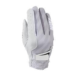 Женская перчатка для гольфа (на правую руку, стандартный размер) Nike TechЖенская перчатка для гольфа Nike Tech из мягкой кожи со вставками из эластичной ткани обеспечивает комфорт и естественную свободу движений. Отводящая влагу конструкция не позволяет ладони скользить, обеспечивая комфорт при каждом свинге.<br>
