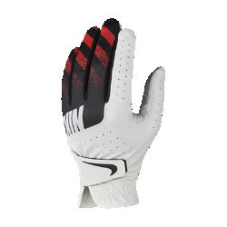 Мужская перчатка для гольфа Nike Sport (на левую руку, стандартный размер)Мужская перчатка для гольфа Nike Sport с накладками из высококачественной кожи на ладони и перфорацией в области пальцев обеспечивает первоклассный комфорт и усиленную вентиляцию. Отводящая влагу конструкция не позволяет ладони скользить, обеспечивая комфорт при каждом свинге.<br>